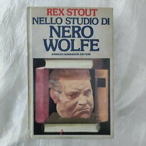 Rex Stout NELLO STUDIO DI NERO WOLFE prima edizione 1988