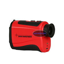 1000m Laser Rangefinder For Golf Hunting Engineering Survey Built-in Battery