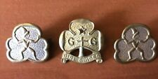 New Zealand Girl Guides Metal Badges