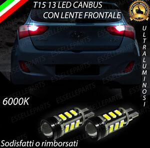 LAMPADE RETROMARCIA 13 LED T15 W16W CANBUS HYUNDAI i30 II NO AVARIA