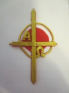 Wachsornament, Wachskunst, für Osterkerze, Kreuz, Ostern, Kerze basteln