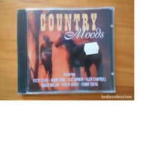 CD COUNTRY MOODS - PATSY CLINE, BOBBY BARE, LEE CONWAY, GLEN CAMPBELL... (5Q)