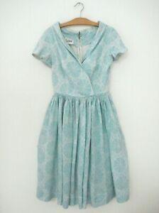 vtg 50s ANNE FOGARTY short sleeve dress