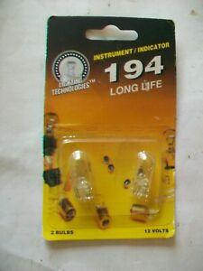 Package of 2 Lighting Technologies Instrument/Indicator Bulbs LT194LL