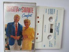 """BIRGITTA & SWANTE """"COMFORT"""" CASSETTE 1987 SB MUSIC, RARE, ONLY 1 ON EBAY, TESTED"""