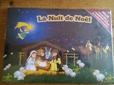 CRÈCHE EN 3D AVEC CD LA NUIT DE NOEL