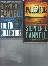 STEPHEN J. CANNELL - THE TIN COLLECTORS - A LOT OF 2 BOOKS