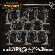 Warmachine Golden Crucible Crucible Guard Rocketmen & CA Unit PIP37013