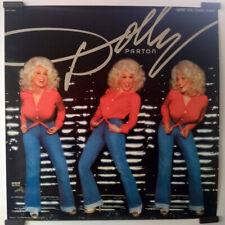 "DOLLY PARTON, HERE YOU COME AGAIN, ORIGINAL, 1977 PROMO POSTER, 22"" x 22"""