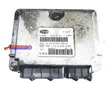 Fiat Panda 169 BJ 2008 Motorsteuergerät 51798638  6160140700 Magneti Marelli