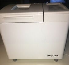 Magic Chef Automatic Bread Maker Home Bakery Machine Cbm-310 White Tested, Works