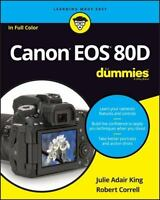 Canon EOS 80d for Dummies (Paperback or Softback)