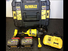 Dewalt Dcg414t2 54v XR Flexvolt Smerigliatrice 125mm - include 2 x 6.0ah