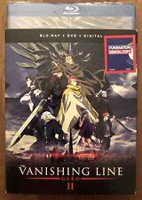 Garo: Vanishing Line Part II Blu-ray+DVD+Digital BRAND NEW SEALED w/ slipcover