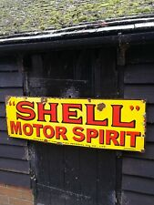 Shell Enamel Sign motor oil enamel sign petrol enamel sign garage sign shell oil