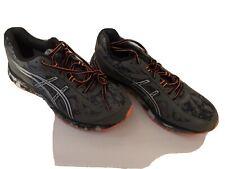 Asics Gel-Scram 2 - Gray/Black Lace-up Running Athletic Shoes T54AQ Men's 8.5