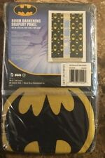 Batman After Dark Window Panel Curtain Drape Micro Fits (42 in x 63 in)