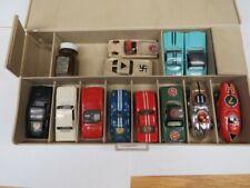 aurora ho scale slot cars pre 1970 set