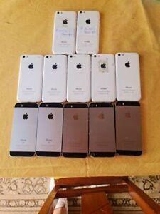 Lot of 12 iPhones ** iCloud FREE