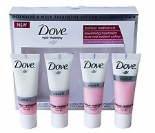 Dove Hair Treatment Kit Therapy Intensive 4 Week For Coloured Hair NEW