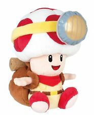"Sanei 6.5"" Sitting Captain Toad Nintendo Super Mario Little Buddy Plush Doll"