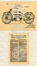 US Patent for a HARLEY DAVIDSON MOTORCYCLE #241