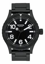 **BRAND NEW** NIXON WATCH THE 46 ALL BLACK A916001 NEW IN BOX!