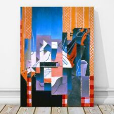 "JUAN GRIS Art - Violin & Guitar CANVAS PRINT 18x12"" - Cubist, Cubism, Music"