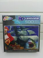 "SEALED Lenticular 3D Jigsaw Puzzle 500 Pieces ""Pirate Adventure"""