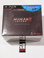 Ninja Gaiden 3: Collector's Edition PS3 (PlayStation 3, 2012) New Sealed