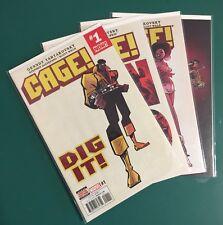 Cage! (Marvel 2016) #1-4 Complete Mini Series