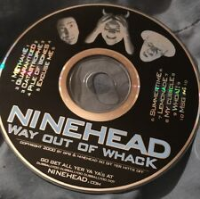 Ninehead Way Out Of Whack CD