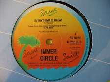 "INNER CIRCLE-EVERYTHING IS GREAT. ORIG 1979 REGGAE/SKA 12"" SINGLE. VG CON"