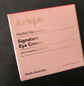 Jurlique Herbal Recovery Signature Eye Cream 15ml Brand New Authentic Skincare