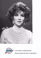Photo Gina Lollobrigida robe de perles/originale presse argentique/Années 70