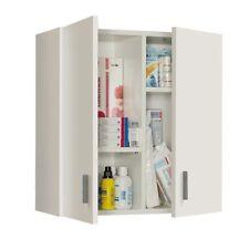 Armario Multiusos Blanco / para colgar / Mueble auxiliar con estantes