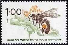 Timbre Insectes Abeilles France 2039 ** lot 25996