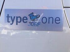 "JDRF WALK Magnet sticker, Lenticular, ""Turn Type One to Type None!"" LITERALLY!"