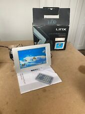 "Linx 8"" Multimedia Digital Photo Display Frame - SD/USB - Tested"