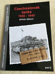 Czechoslovak Tanks 1930-1945 Photo Album Part 2 - Superb & Scarce Photo Album