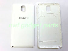 New OEM Samsung Galaxy Note 3 N9005 N900A N900R Battery Back Cover  White US-FL