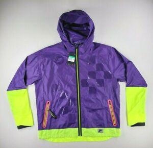 NEW Nike Shield Flash Full Zip Running Jacket Court Purple BV5615-547 Men's XL