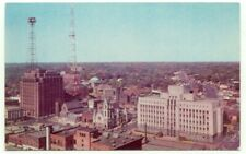 Des Moines IA Aerial View Of Banker's Life Vintage Postcard - Iowa