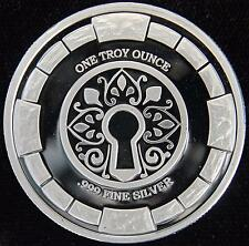 1 TROY OZ. .999 FINE SILVER NWT MINT STANSBERRY RESEARCH PROOF ROUND