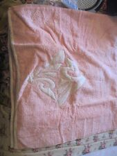"NWOT New Natori  Solid Bath Towel with quilted embellished  23"" x 46"""