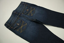EUC - AS NEW - RRP$289 - Womens Tommy Hilfiger 'FREEDOM BOOT' Indigo Jeans