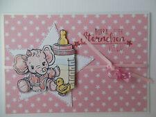 50 Glückwunschkarten zur Geburt Baby Geburtstagskarten 312070 TA