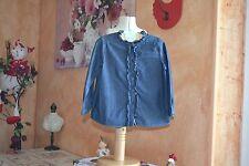 blouse bonpoint 3 ans tres mode froufrou devant la miss va adorer