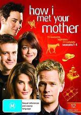 How I Met Your Mother SEASON 1 2 3 4 :  DVD