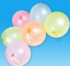 10 PUNCH BALLOONS EXTRA LARGE - ASSORTED COLORS - 16